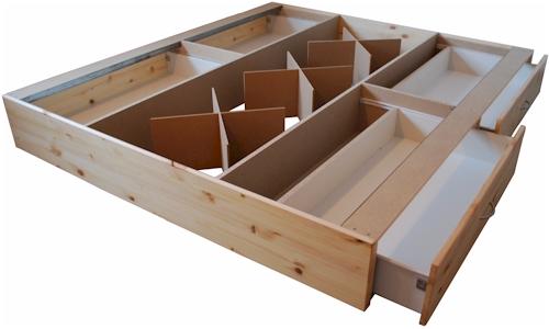 Bases camas de agua modelo aloe vera for Como hacer una base para cama individual